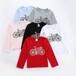 貴州畢節童裝批發市場秋冬季韓版長袖T恤衫批發中小童純棉全棉卡通圓領長袖衛衣批發