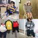 福建泉州秋冬季兒童衣服批發簡約百搭假兩件字母印花衛衣有哪些貨到付款童裝批發網站