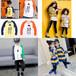 河南鄭州時尚童裝貨源便宜卡通印花圓領套頭打底衫批發質量好價格優惠的童裝長袖衛衣