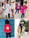 金华义乌微信童装批发质量好的价钱低的热卖儿童外套批发纯棉防水布中长款百搭休闲外套