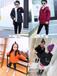 廣州中山八路童裝冬裝貨源批發網上童裝批發哪家好河南中小童韓版時尚笑臉印花棉襖外套