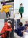 貴州畢節韓版羊羔絨短款加厚修身兒童棉衣批發加絨加厚金絲絨中小童可愛夾棉毛毛衣外套