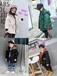 韓國南大門童裝批發攻略廠家網絡爆款一手棉衣外套貨源30-60元質量好童裝棉服風衣批發