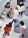 河南鄭州批發新款冬季童裝圖片及價格表廠家直銷2018冬季韓版中小童潮款中長款棉衣批發