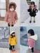 瑞安童装批发厂家地址中高档时尚款式洋气童装拿货方式厂家时尚女童全身兔毛外套批发