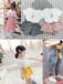 便宜又好看童裝批發哪個批發網便宜可靠虎門廠家直銷3-7歲中小童拉架棉純棉卡通套裝