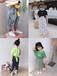 山東聊城香江兒童批發童裝批發市場女童時尚網紅款復古褶皺兩件套裙批發網貨到付款
