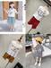 哪里童裝批發最便宜嗎山東聊城香江兒童批發童裝批發市場女童時尚網紅款復古褶皺套裙