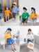 浙江杭州網紅童裝批發圖片價格哪個網站批發童裝好30元以內夏季時尚韓版童裝批發
