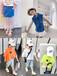 四川广元厂家20-30元新品网红爆款韩版女童套装批发网上快手抖音直播潮牌质量好的童装