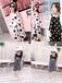 杭州四季青兒童服飾市場廠家不限制量隨意批發貨源20-30元中童精品中性牛仔褲套裝批發