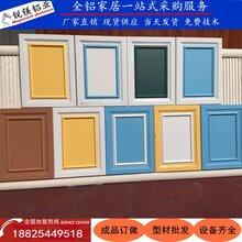 全铝家具铝型材全铝橱柜全铝衣柜欧式门板铝材厂家批发图片