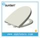 厦门脲醛材质圆形白色坐便器盖板缓降快拆办公用马桶盖SU018