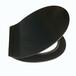廈門廠家直銷脲醛馬桶蓋板黑色超薄標準形坐便器馬桶蓋