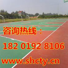 台州塑胶篮球场施工