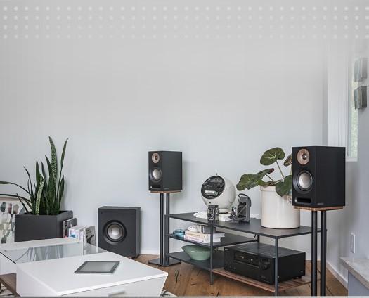 JAMO/尊宝S803发烧Hi-Fi音响无源低音高保真书架音箱家庭影院