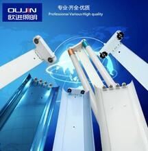 工厂专业产生大量提供工程日光灯支架灯管支架图片