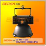 鳍片式航空铝质外壳飞利浦驱动LED防水200W工矿灯高棚吊顶灯IP65图片