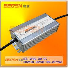深圳供应BS-W30-30电源30-60WLED户外电源非隔离IP67防水驱动电源厂家直销图片