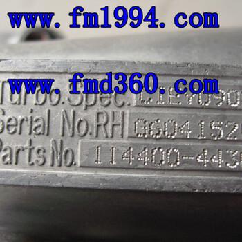 RHG6增壓器6HK1進口增壓器114400-4430