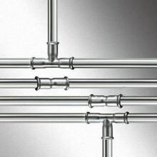 山东鸿丰管业面向全国供应DN15-DN300薄壁不锈钢水管、卡压式管件、承插式管件