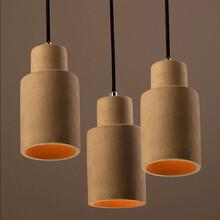 业丰水泥配件,水泥灯饰,彩色水泥台灯,水泥灯体,水泥灯座