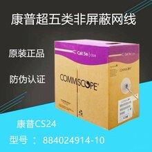 康普CS24超五類網線非屏蔽超5類雙絞線AMP安普網絡線圖片