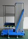 電動升降作業平臺鋁合金升降機6米高升降機廠家加強加厚鋁合金平臺