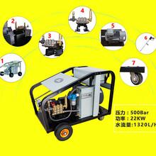 电驱动500公斤高压清洗机电厂锅炉高压清洗机图片
