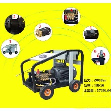 厂家供应200公斤压力电动冷水清洗机现货图片