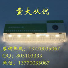 萤火虫人体感应灯LED小夜灯充电卧室床头过道衣橱智能光控灯图片
