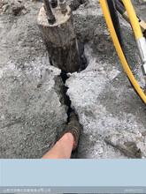 石灰岩破碎劈裂棒液压劈裂器新闻资讯图片