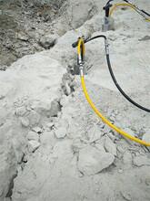 石头质地坚硬开挖机器驻马店市图片