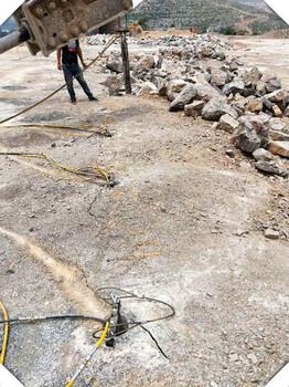宜宾煤矿巷道岩石开采设备分裂机代替炸药开石头静爆机
