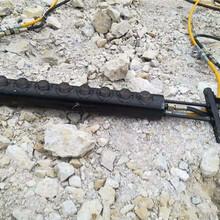 YGF-5000分裂力度开采分裂枪矿石开采劈裂机?#20998;菔型?#29255;