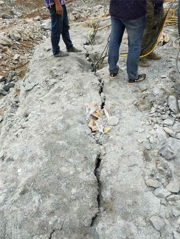 代替放炮机械岩石开采设备赤峰市一的不同之处