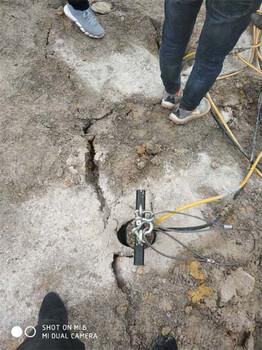 膨胀剂裂石效率慢用液压岩石撑裂机宁波现货价格