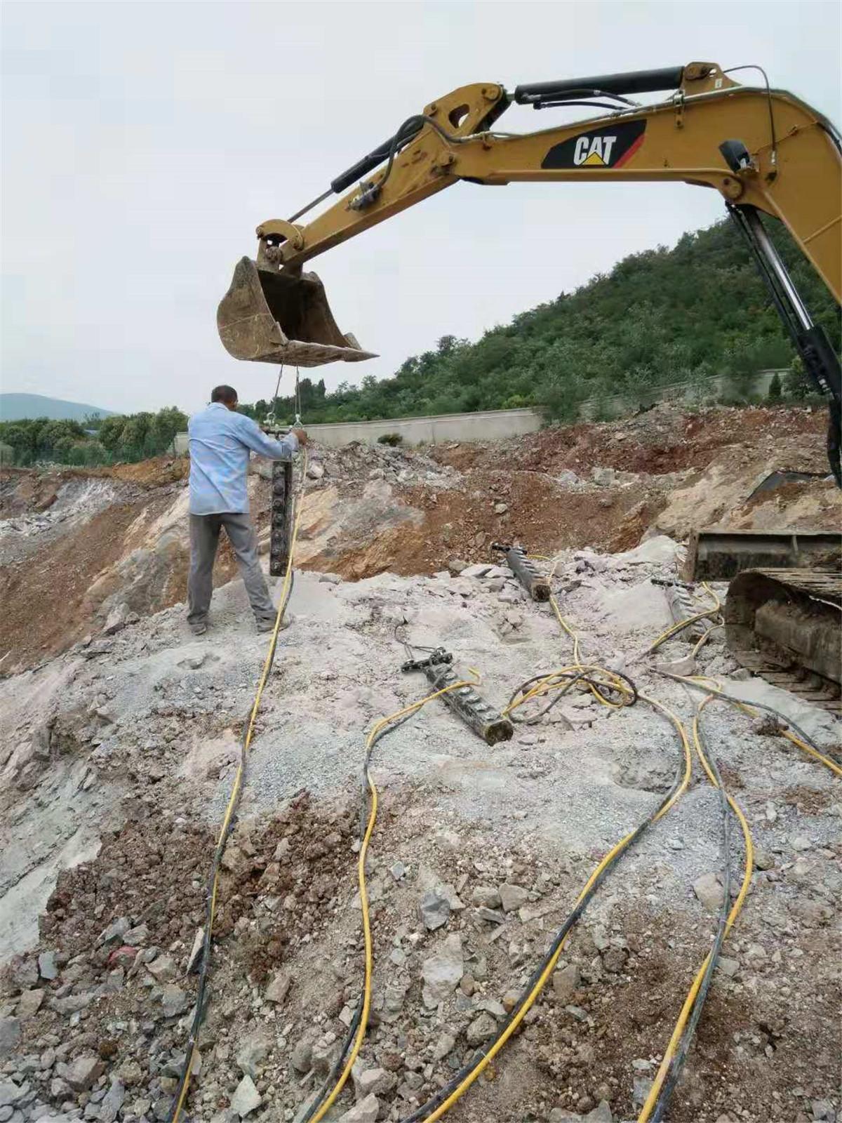 液压劈裂石头机器泵