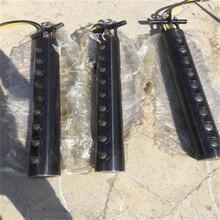 矿石开采新设备液压岩石劈裂机浙江温州裂石机厂家图片