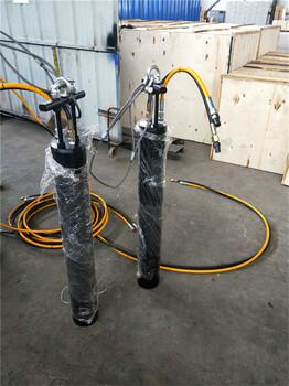 湖北竖井裂石机开采设备一台价格