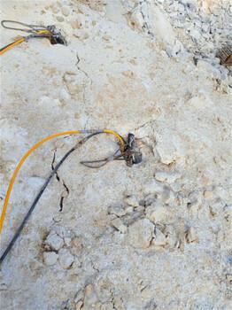 隧道开凿石头液压分裂机开裂机需要几个人工永州