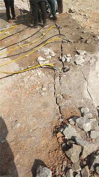代替破碎錘劈石礦山開采劈裂機合肥市