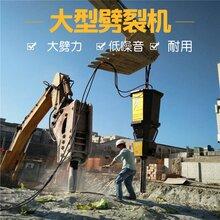 道路施工硬石头顶石机破碎硬石器井下岩石劈裂机新疆克孜勒苏