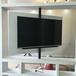360度旋转电视支架电视旋转支架隔断墙电视墙架安装