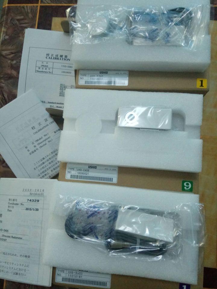 USHIO紫外线照度计UIT-250,S365,C405授光器