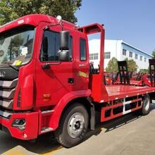 郴州解放15吨挖机平板拖车送车上门图片