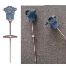 温度传感器原理,wzp/02012带护套型热电阻温度传感器广东PT100铂电阻图片