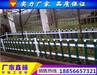 徐州PVC草坪护栏厂家、睢宁塑钢绿化护栏价格图片