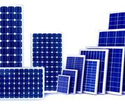太阳能发电板回收图片