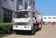 28米小型强制搅拌机带泵车,北流强制搅拌机带泵车